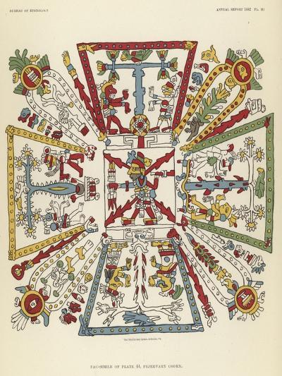 Fejervary Codex--Giclee Print