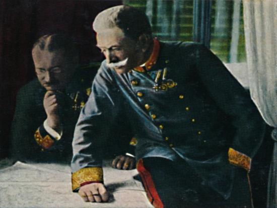 'Feldmarschall Conrad von Hotzen', 1934-Unknown-Giclee Print