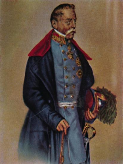 'Feldmarschall Graf Radetzky 1766-1858. - Gemälde von Kriehuber', 1934-Unknown-Giclee Print