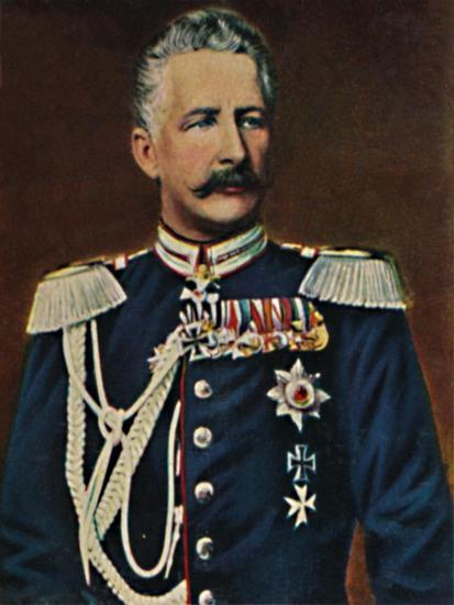 'Feldmarschall Graf von Waldersee 1832-1904', 1934-Unknown-Giclee Print