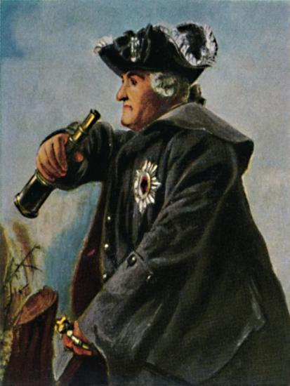 'Feldmarschall Keith 1696-1758. - Gemälde von Menzel', 1934-Unknown-Giclee Print