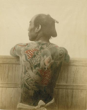 A Man with Tattoo