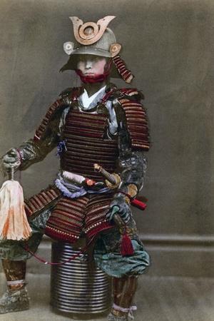 A Samurai in Armour, Japan, 1882
