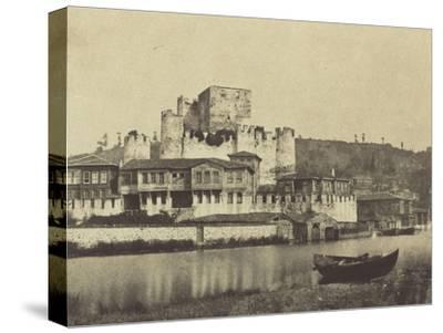 Constantinople, maisons sur le Bosphore
