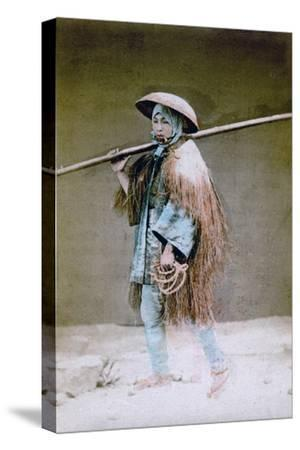 Coolie in Winter Dress, Japan, 1882
