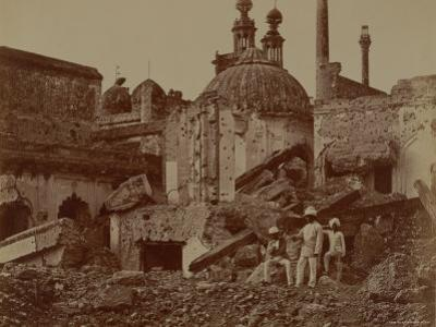 Fort Lucknow After the Indian Mutiny, 1857