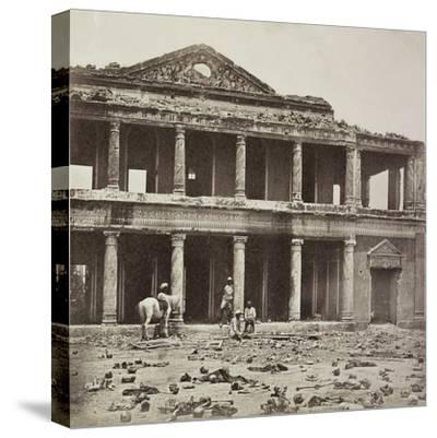 Interior of the Secundra Bagh at Lucknow after the Slaughter of 2000 Rebels by the 93rd Highlanders