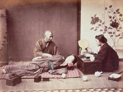 Japanese Masseur, c.1890