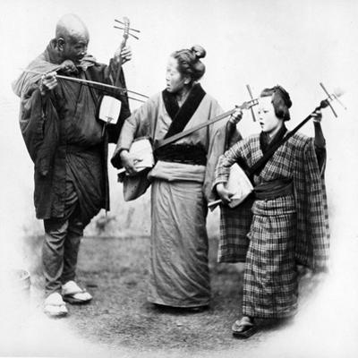 Japanese Musicians, C.1860s