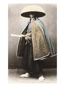 Japanese Samurai in Traditional Costume, 1868 by Felice Beato