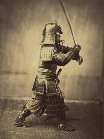 Japanese Warrior in Armour, 1865-7