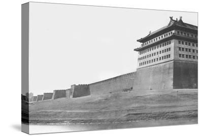 North and East Corner of the Wall of Peking, 1860