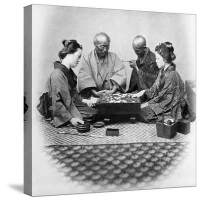 Playing Go, C.1860s