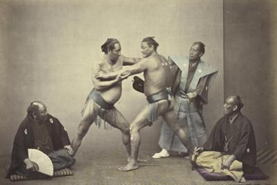 Representatives of Nio, the Japanese Hercules, 1866-7