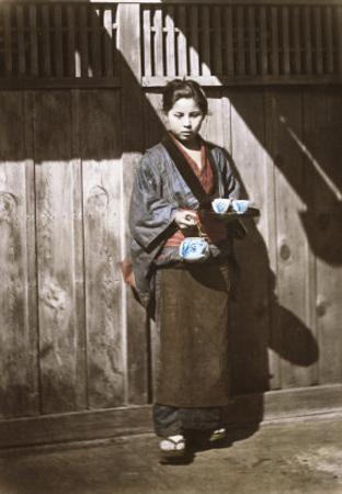 Sake Seller, Japan, c.1868