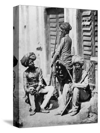 Sikh Officers During the Indian Rebellion, 1858