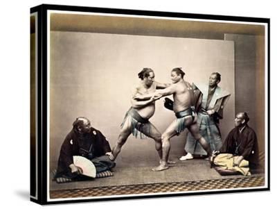 Sumo Wrestlers, c.1870-80
