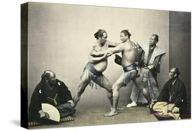 Sumotori or Wrestlers, C.1870-1880