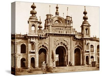 The Great Gate of the Kaiser Bagh, Lucknow, 1858