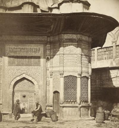 Vue de Constantinople, ancienne fontaine de sultan Mahmoud