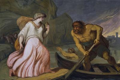 Scene from the Myth of Cupid and Psyche