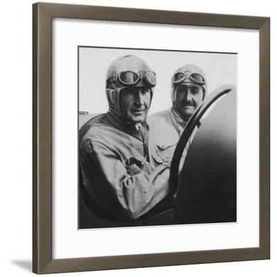 Felice Nazzaro in a 2-Litre Fiat, C1922