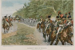 Napoleon's Mode of Travelling by Felicien Baron De Myrbach-rheinfeld