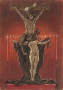 The Satanists (Calvar) by Félicien Rops