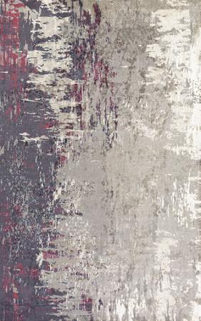 "Felicity Area Rug - Gray/Hot Pink 5' x 7'6"""