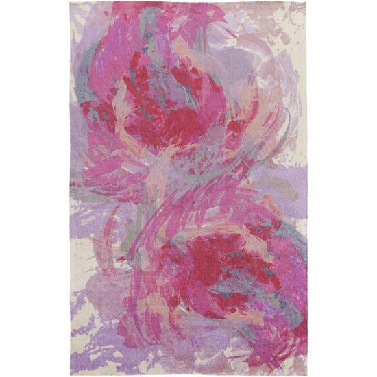 """Felicity Area Rug - Hot Pink/Lavender 5' x 7'6""""--Home Accessories"""
