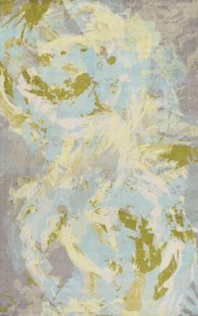 """Felicity Area Rug - Sky Blue/Lime 5' x 7'6"""""""