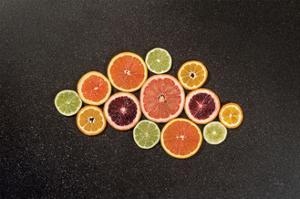 Citrus Drama I by Felicity Bradley