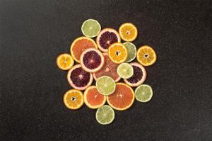 Citrus Drama II by Felicity Bradley