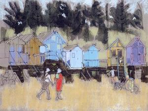 Beach Huts at Wells by Felicity House