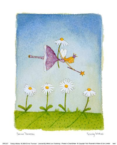 Felicity Wishes III-Emma Thomson-Art Print