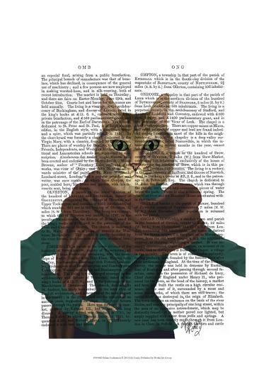 Feline Fashionista-Fab Funky-Art Print