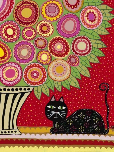 Feline Florist 1-Kerri Ambrosino-Giclee Print