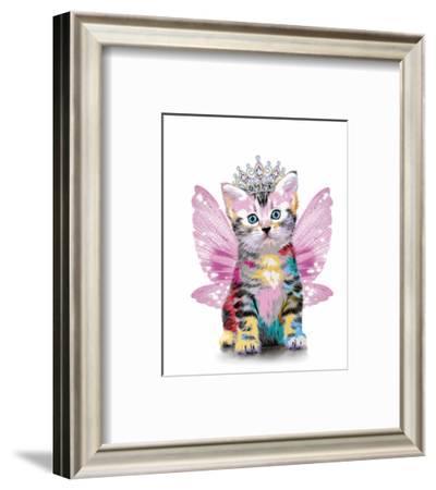 Feline Flutter-Alan Lambert-Framed Art Print