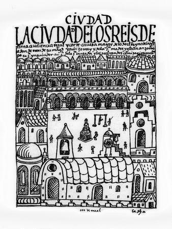 City of Kings, Now Lima, First New Chronicle and Good Government,16th, Biblioteca Nacional, Madrid