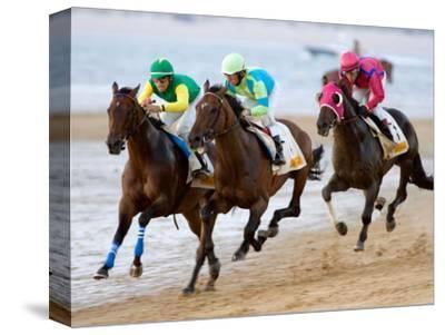Horse Racing on the Beach, Sanlucar De Barrameda, Spain