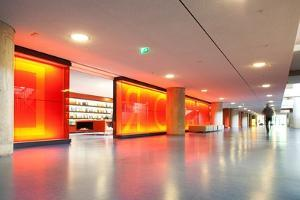 Interior of the House of World Cultures, Berlin, Germany by Felipe Rodriguez