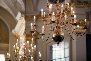 Lamps in Saint Martin in the Fields Church, London by Felipe Rodriguez