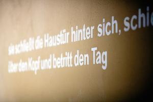 Message on Wall Berlin by Felipe Rodriguez