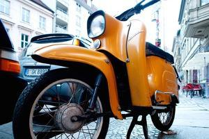 Motorbike in Berlin by Felipe Rodriguez