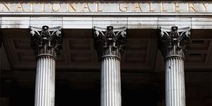 National Gallery on Trafalgar Square, London by Felipe Rodriguez