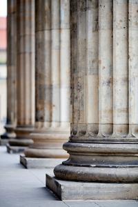 Neoclassical Columns by Felipe Rodriguez