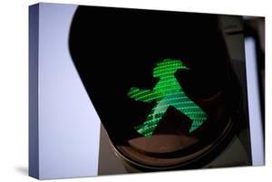 Pedestrian Road Crossing Berlin, Germany by Felipe Rodriguez