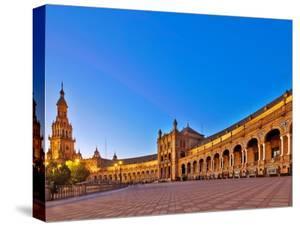 Plaza De Espana, Seville, Spain by Felipe Rodriguez