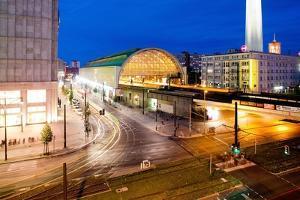 Railway Station Berlin by Felipe Rodriguez