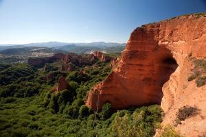 Spanish Landscape with Cliff Face by Felipe Rodriguez